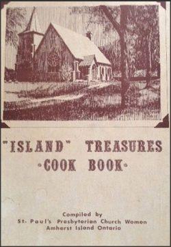 Island Treasures Cook Book Cover
