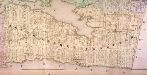 South & North Fredericksburgh McGill Map